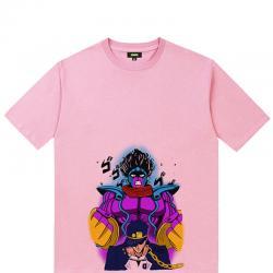 JoJo's Bizarre Adventure Jotaro Kujo Tshirts Boys Black T Shirt