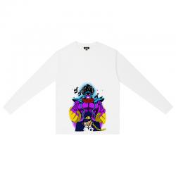 JoJo's Bizarre Adventure Jotaro Kujo Long Sleeve Tshirts Branded Couple Shirt
