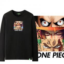 Roronoa Zoro and Luffy Long Sleeve Tee One Piece Children T Shirt