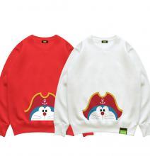 Doraemon Nobita Treasure Island Hooded Jacket Cool Sweatshirts For Kids