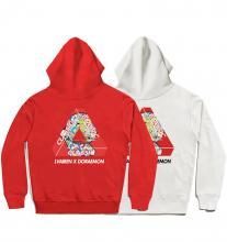 Double-sided printing Cool Hoodies For Teenage Guys Doraemon Hoodie