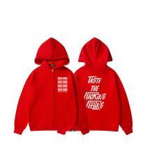 Coca-Cola Hooded Coat Boys Zip Up Sweater